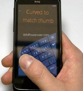 Microsoft готовит новую клавиатуру для Windows Phone 8?