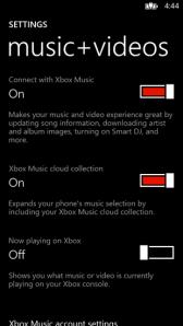 Утечки WP8 указывают на отделение облачного сервиса Xbox Music