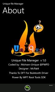 Unique File Manager