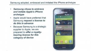 Основные претензии Apple к Samsung