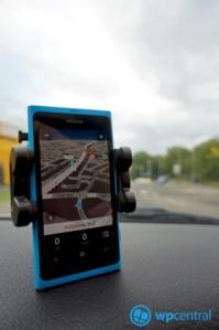 Nokia Drive 3.0 в портретном режиме