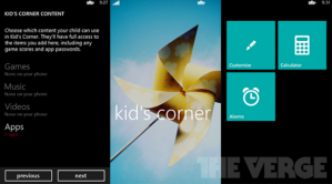 Детский Уголок в Windows Phone 8