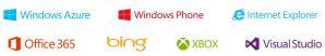 Новые логотипы продуктов Microsoft