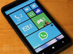 WhatsApp для Windows Phone 8