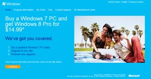 Открыта регистрация на программу по переходу на Windows 8