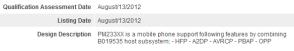 HTC PM233XX