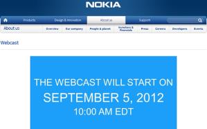 Онлайн-трансляция с презентации Nokia