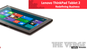 Lenovo ThinkPad Tablet 2