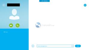 Skype с интерфейсом Modern для Windows 8