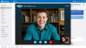 Skype на Outlook.com