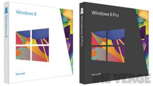 Упаковка Windows 8