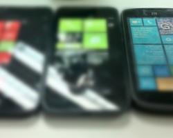 Представитель ZTE показал тизерные фото новых смартфонов на Windows Phone 8 и планшета на Windows RT