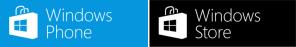 Логотипы магазинов приложений для Windows 8 и Windows Phone