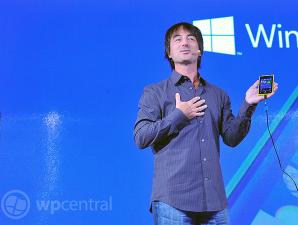 Програмный менеджер Windows Phone Джо Белфиори в Нью-Йорке