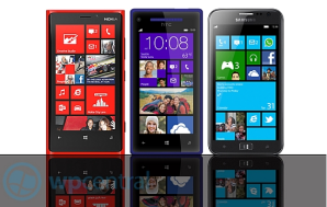 Смартфоны Nokia, HTC и Samsung на Windows Phone 8