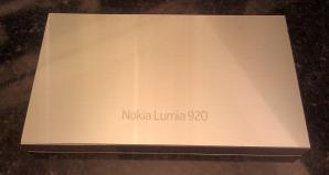 Посылка с Lumia 920