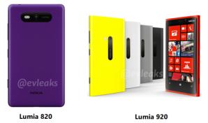 Lumia 820 и 920