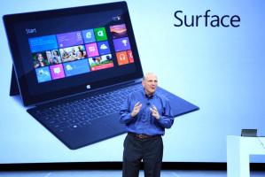Стив Балмер на собрании Microsoft