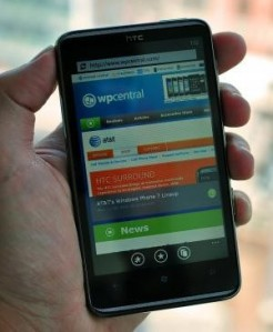 Windows Phone 7.8 для HTC HD7