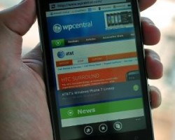 Первая кастомная прошивка Windows Phone 7.8 для HTC HD7