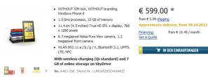 Немецкие розничные сети уже принимают предзаказы на Nokia Lumia 920820
