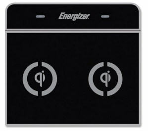 Energizer IC2B-US Qi Dual-Zone Flat Panel Induction Charger