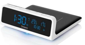 Oregon Scientific QW201 Wireless Charging Station with Alarm