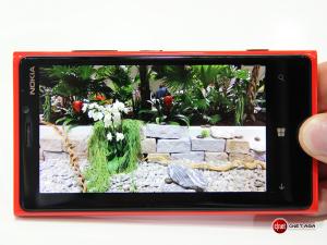 Снимок, сделанный Lumia 920