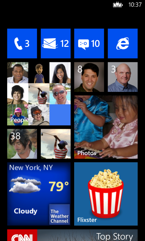 Как на windows phone 10 сделать скриншот экрана