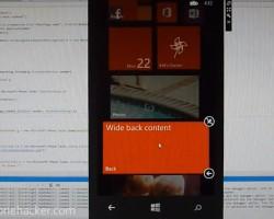 Ещё одно видео эмулятора Windows Phone 8