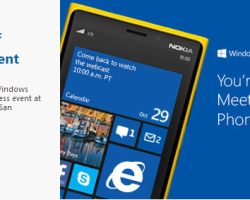 Видеотрансляция презентации Windows Phone 8