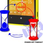 Механизм разблокировки сверхчувствительного экрана Lumia 920
