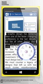 Концепт Office для Windows Phone от Янко Андреева