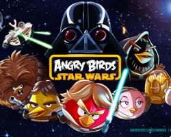 Птицы прилетели в Россию! Angry Birds Star Wars доступны в маркете.