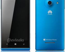 Рендеры смартфона Ascend W1 от Huawei