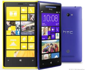 Nokia Lumia 920 и HTC 8X