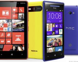Сегодня Nokia, HTC и Samsung назовут стоимость и дату выхода новых WP-смартфонов?