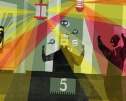 Мишенью последней рекламы Nokia стали скучные цвета iPhone 5