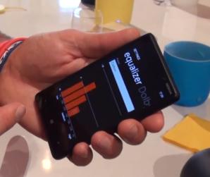 Эквалайзер в Windows Phone 8