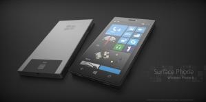 Концепт смартфона Microsoft Surface