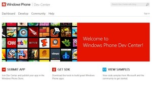Windows Phone Dev Center