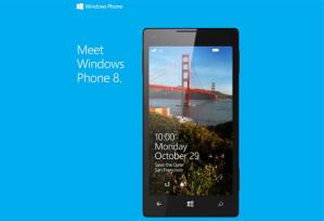 Windows Phone 8 будет официально представлена 29 октября