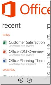 Office для Windows Phone 8