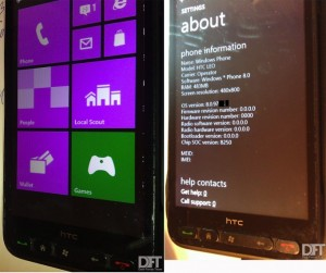 Windows Phone 8 на HTC HD2