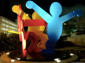 Ночная статуя