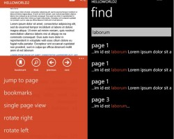 PDF Reader для Windows Phone 8