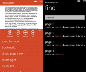 PDF Reader для Windows Phone 8
