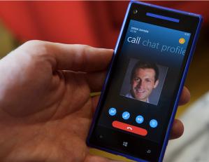 Skype в Phone 8