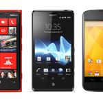Видео сравнение Nokia Lumia 920, LG Nexus 4, Sony Xperia T