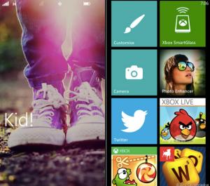 Windows Phone 8 - возможность отдельного профиля для ваших детей.